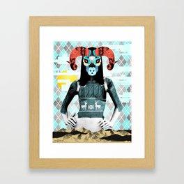 Balance And Overthrow Framed Art Print