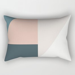 Cirque 01 Abstract Geometric Rectangular Pillow