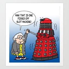 Lola Dalek Art Print