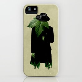 Mr.Green Thumb iPhone Case