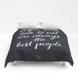 The Best People // Dark Comforters