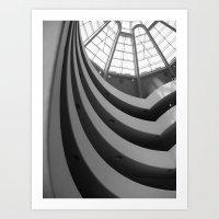 Guggenheim Interior Art Print