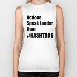 Hashtags Biker Tank
