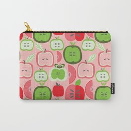 Retro Apples Carry-All Pouch