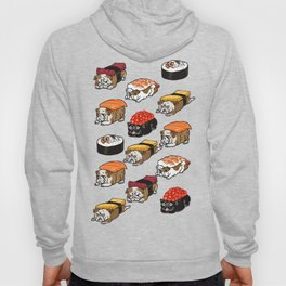 Sushi English Bulldog Hoody