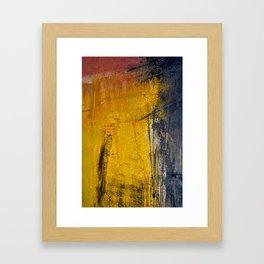 Window Rain Framed Art Print