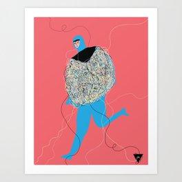 hilos Art Print
