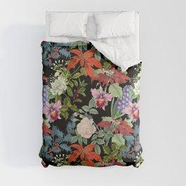 WINTER GARDEN - Black  Comforters