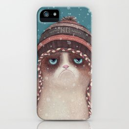 Under snow iPhone Case