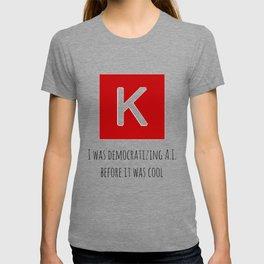 Democratizing AI Keras Version T-shirt