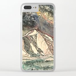 Mount Sopris and the Galaxy Clear iPhone Case