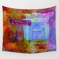 key Wall Tapestries featuring The Key by Neelie