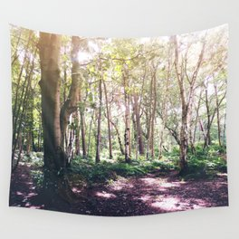 Forest Glare Wall Tapestry