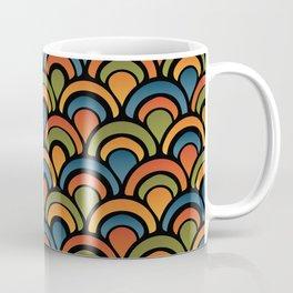 Pop Fan Pattern Coffee Mug