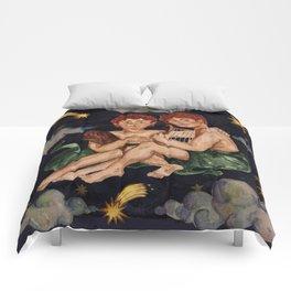 Zodiac sign Gemini Comforters