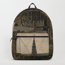 Cardiff Castle - Wales Backpack