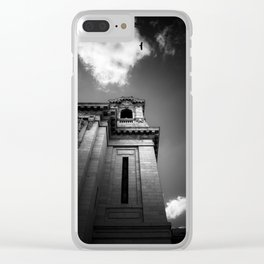 the beholder Clear iPhone Case
