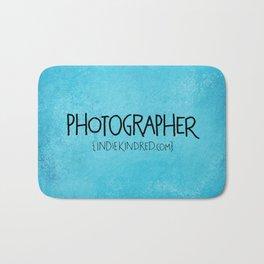 Photographer Bath Mat