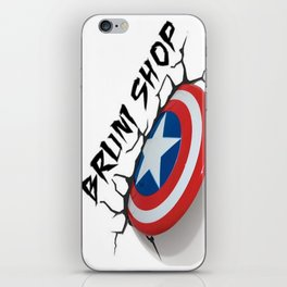 BS- Capt. America iPhone Skin