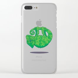 Magical Chameleon Clear iPhone Case