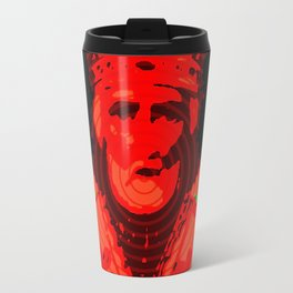 Psychedelic Mother of God - Infrared (The Technicolor Saints) Travel Mug