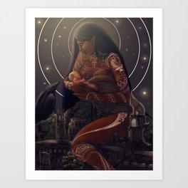 Empress tarot Art Print
