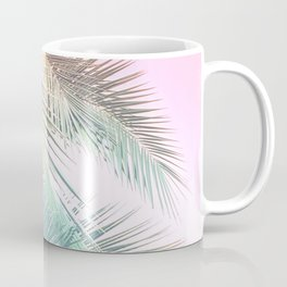Wild palm leaves Nostalgia Coffee Mug