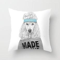 80's bitch Throw Pillow