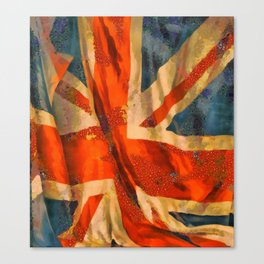 Union Jack UK Flag Canvas Print