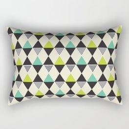 Geometric Pattern 48 (Mid-century) Rectangular Pillow