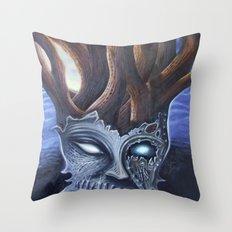 Eyeless Throw Pillow
