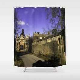 Manor Gatehouse  Shower Curtain