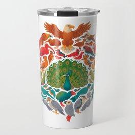 Aerial Rainbow : white Travel Mug
