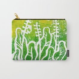 Summer Herbs, abstract floral Carry-All Pouch