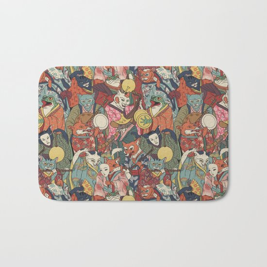Night parade Bath Mat