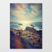 chile Canvas Prints featuring Quintero, Chile. by Viviana Gonzalez