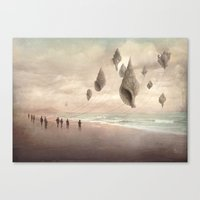 giants Canvas Prints featuring Floating Giants by Christian Schloe