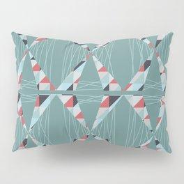 Modern Triangles  Pillow Sham