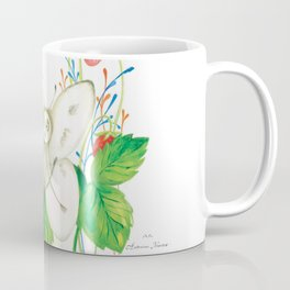 """Illustration for the children's book """"Small White and the Wing Tailor"""" 3 Coffee Mug"""