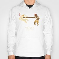 yoga Hoodies featuring yoga. by Louis Roskosch