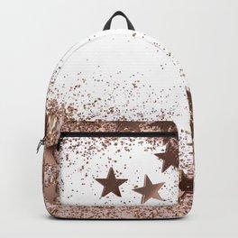 SHAKY STARS ROSEGOLD Backpack
