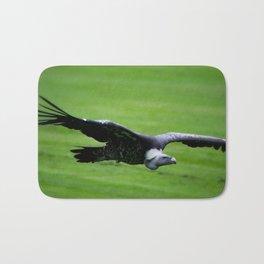 Great vulture in flight Bath Mat