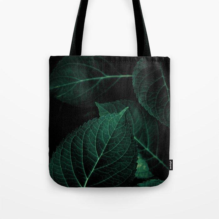 Dark Leaves I Tote Bag
