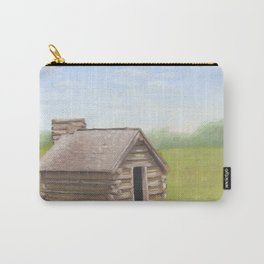 Cabin in Valley Forge Carry-All Pouch