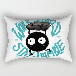 SOOT SPRITE - Work Hard, Stay Humble Rectangular Pillow