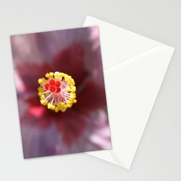 Hibiscus Tropical Flower Getting Lost In The Details Stationery Cards