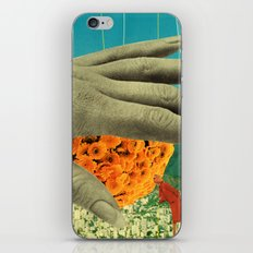 wake up and smell the flowers iPhone & iPod Skin