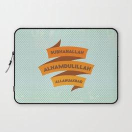 Subhanallah Alhamdulillah Allahuakbar Laptop Sleeve