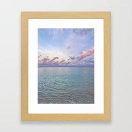 Cayman Islands Sunrise Framed Art Print