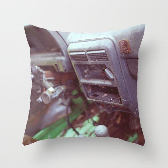 Aging Throw Pillow